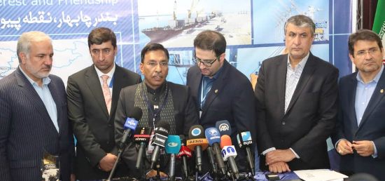 Mr. Gopal Krishna, Secretary (Shipping), Government  of India at a Press Conference on Chabahar Day organised on 26 Feb 2019