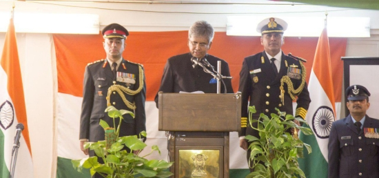 Embassy of India in Tehran celebrates 69th Republic Day of India on 26 January 2018