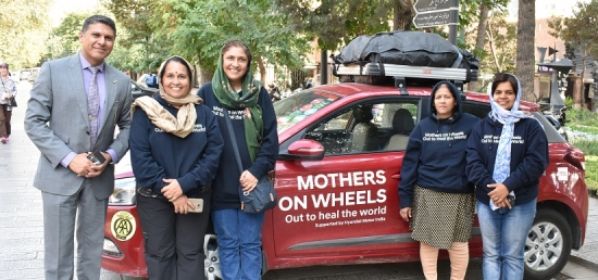 Mothers on Wheels' in Tehran - 08 Oct 2018