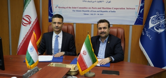 The 8th meeting of the Joint Committee on Ports & Maritime Cooperation was held in Tehran on 29-30 July 2019.